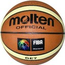 Bola Basquetebol MOLTEN couro sintético BGE6
