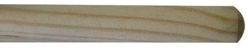 Barra de exercícios em madeira. 1200x24mm