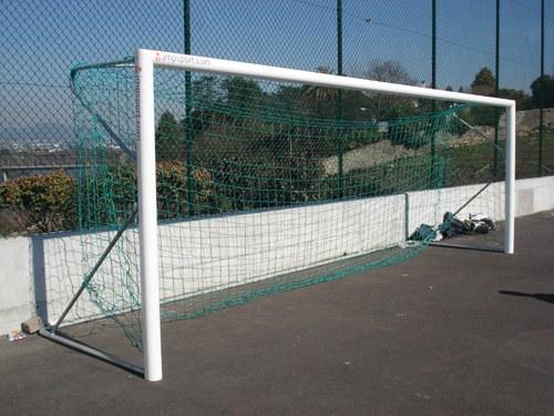 Baliza de Futebol 7, transportavel, aluminio
