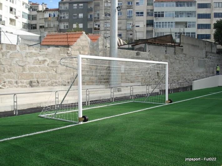 Baliza Futebol 11 transportável, aluminio