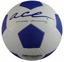 Bola ACE Match Azul/Branco Nº 4