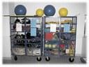 Armário armazenamento material metálico 170x120x50cm.