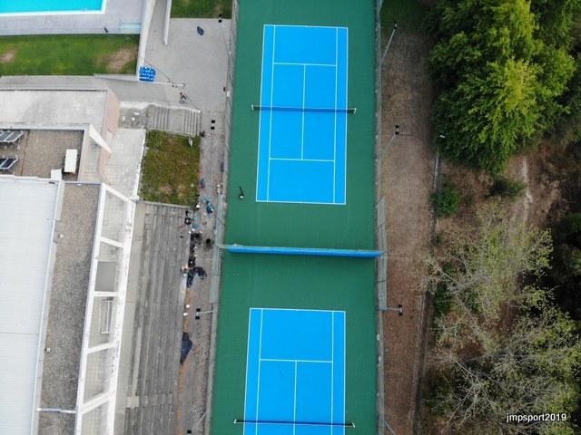 Municipio de Penafiel - Recuperação de courts de Ténis