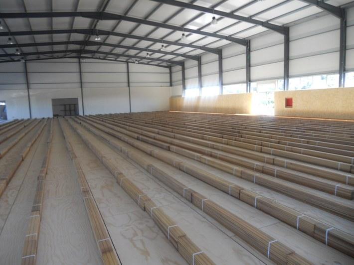 Pavilhão Municipal de Vilela - Paredes - inicio trabalhos