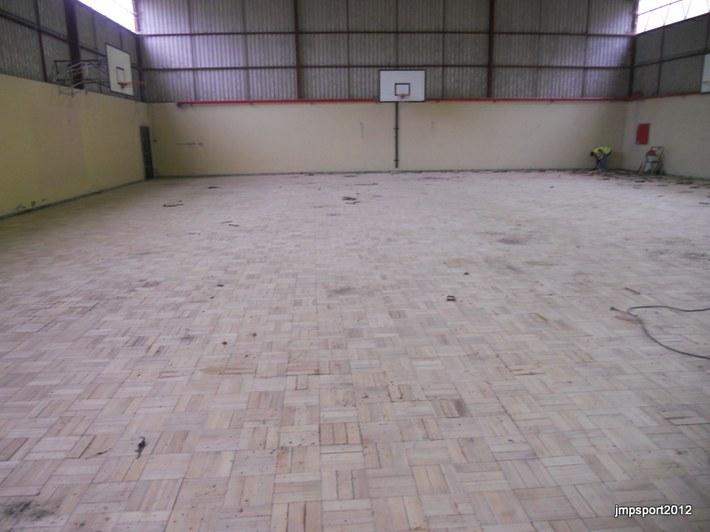 Recuperação Pavimento Desportivo - Esc. Sec. Almeida Garret