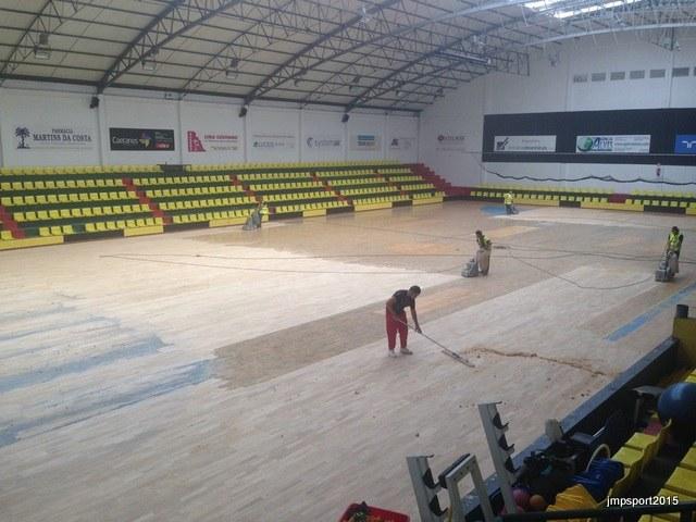 Reparação Pavilhão A.A. ÁGUAS SANTAS - Conclusão